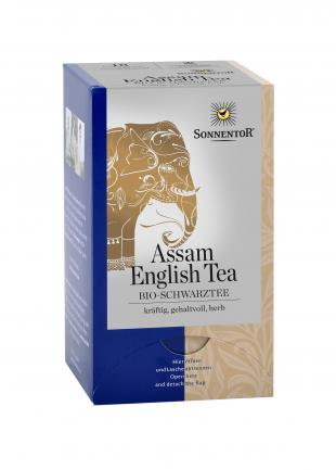 Английский чай Ассам. Черный чай - пакетики