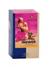 «Имбирный энергетический чай»