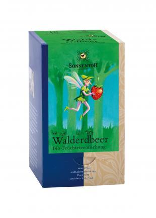 Фруктовый чай «Клубничный» в пакетиках