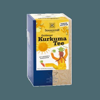 Органический чай «Золотая куркума» чайные двухкамерные пакетики 36 г.